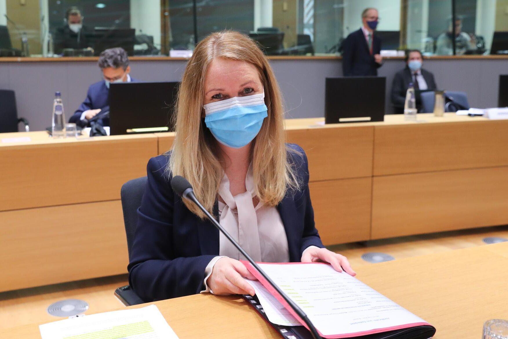 Landsbygdsminister Jennie Nilsson (S) är på plats i Bryssel för att, förhoppningsvis, föra Cap-reformen i hamn.