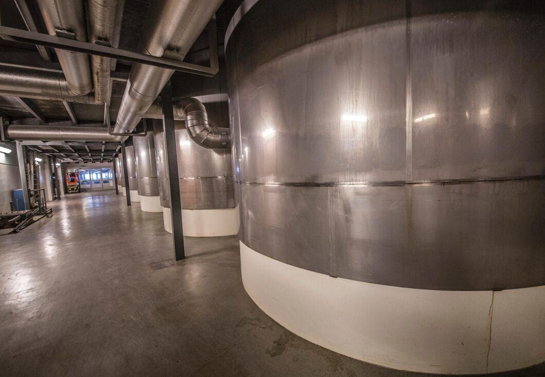 Arkivbild. Mjölkpulvertillverkning vid mejeri.