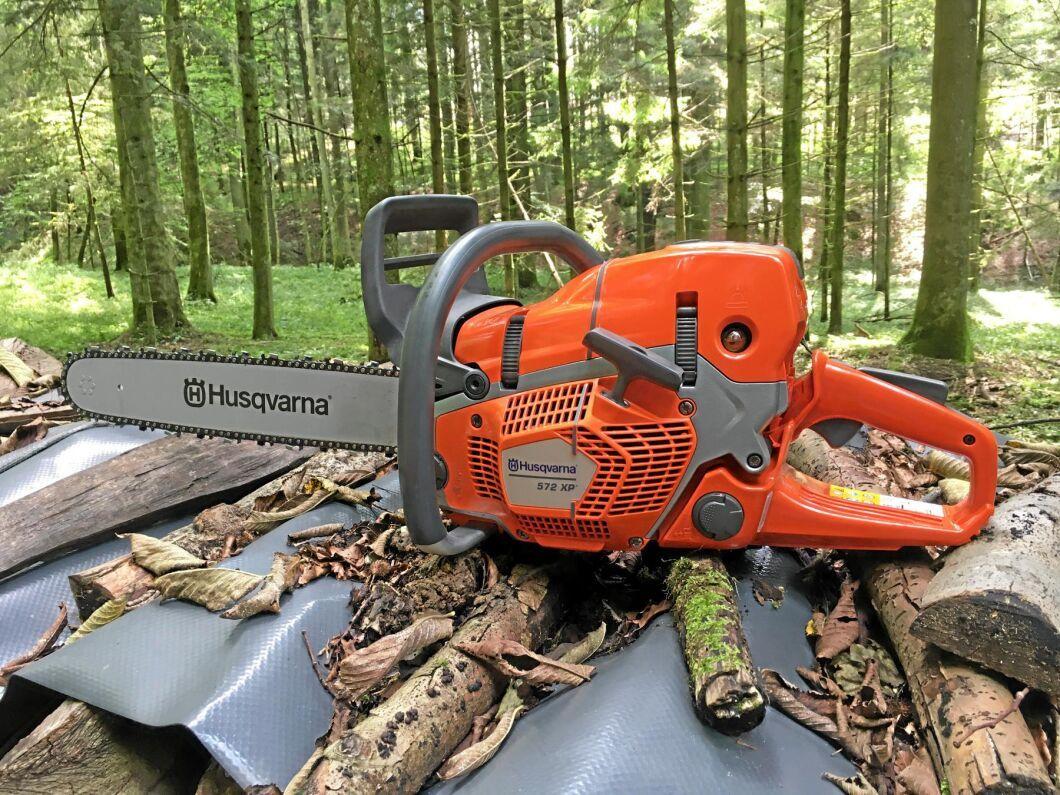 Husqvarna 572 XP är den första sågen i en ny generation sågar.