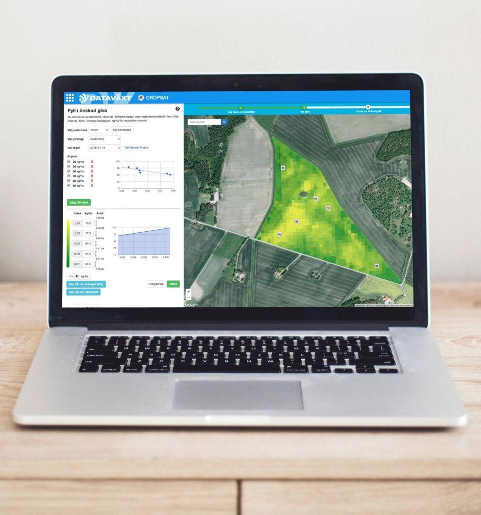 Dataväxt släpper en ny produkt som ska göra det lättare att föra över styrfiler från Dataväxts digitala tjänster, inklusive Markdata och Cropsat ingår.