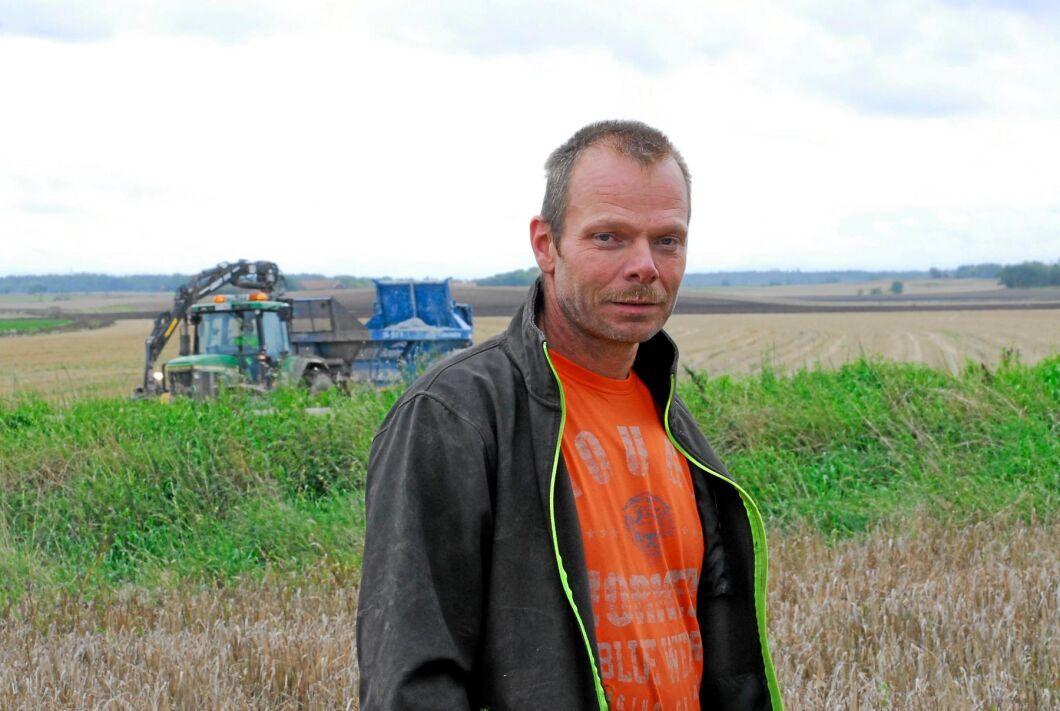 Magnus Rosenberg, ekoodlare, i Stora Köpingen.