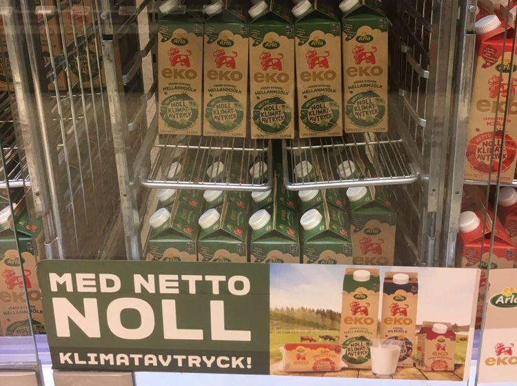 Ekologisk mjölk