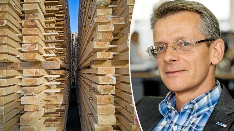 Rusning efter trävaror ger rekordresultat