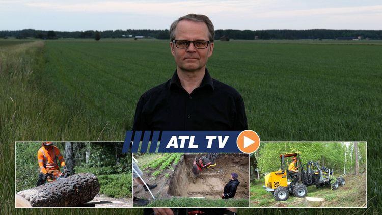 ATL TV: Han är först med finsk miniskotare