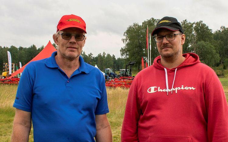 I bild: Claes-Erik Andersson och Mikael Alriksson.