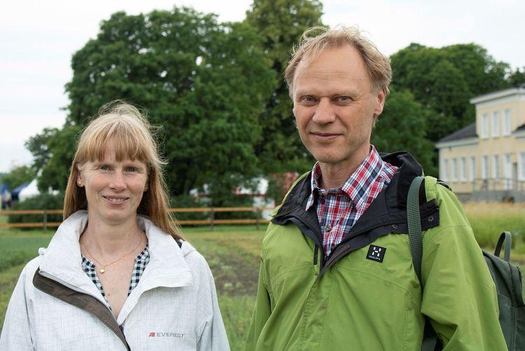 I bild: Karin och Gustav Jansson.