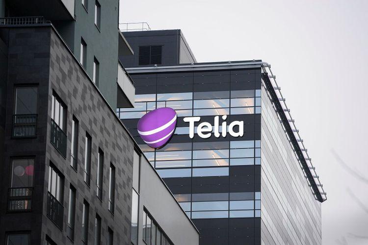 Telias huvudkontor i Solna.