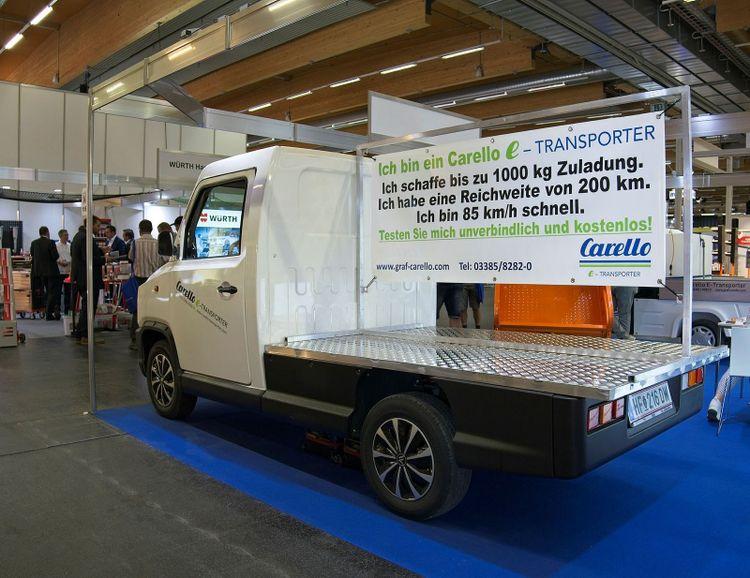 Carello e-Transporter TR100 lastar 1000 kilo.