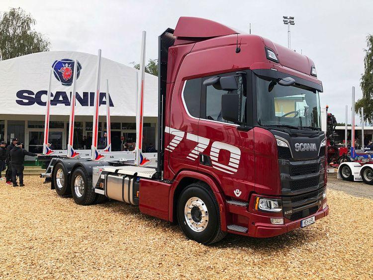 Scania timmerbil