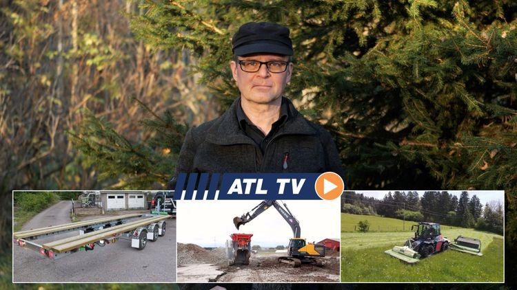 ATL TV: Nytt släp, ovanlig traktor och nybygge