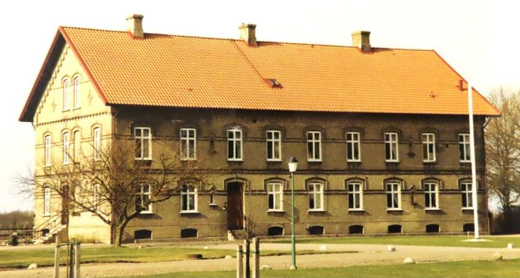 Inspektorsbostaden på Säbyholms gård.