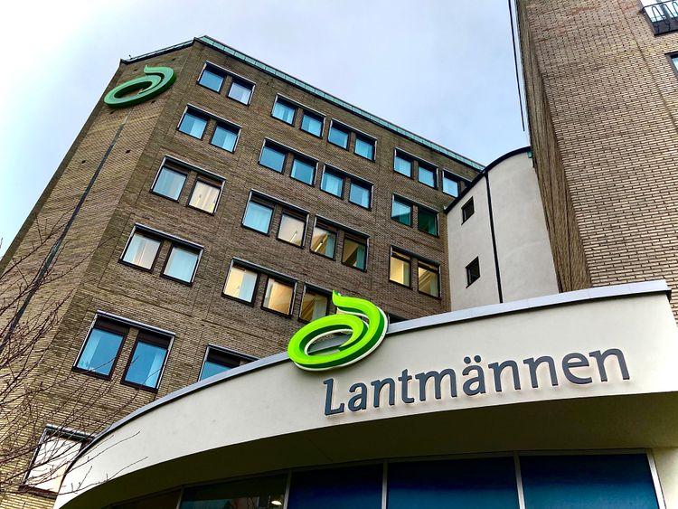 Bild på Lantmännens kontor i Stockholm.