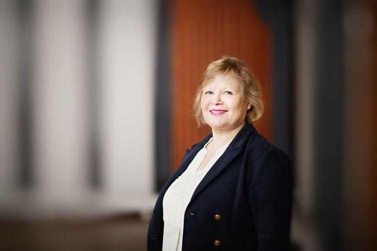 Lena Andersson, sektionsansvarig för lantbruk på Gröna arbetsgivare.