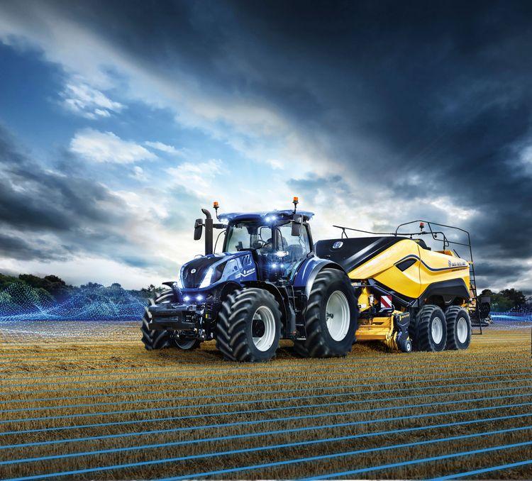 New Holland T7 Heavy Duty-traktor.