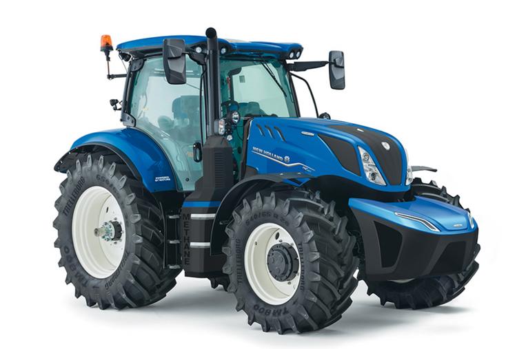 New Hollands biogastraktor kan bli Tractor of The Year 2022.