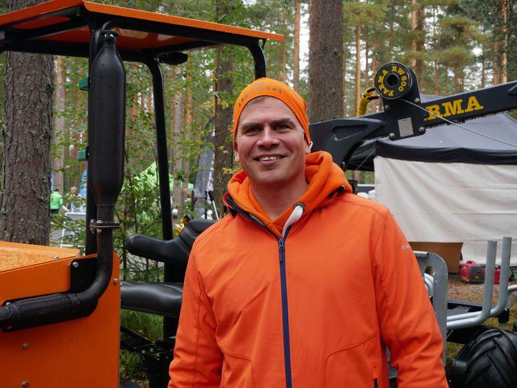 Pekka Syvänen grundade Logbullet 2014.