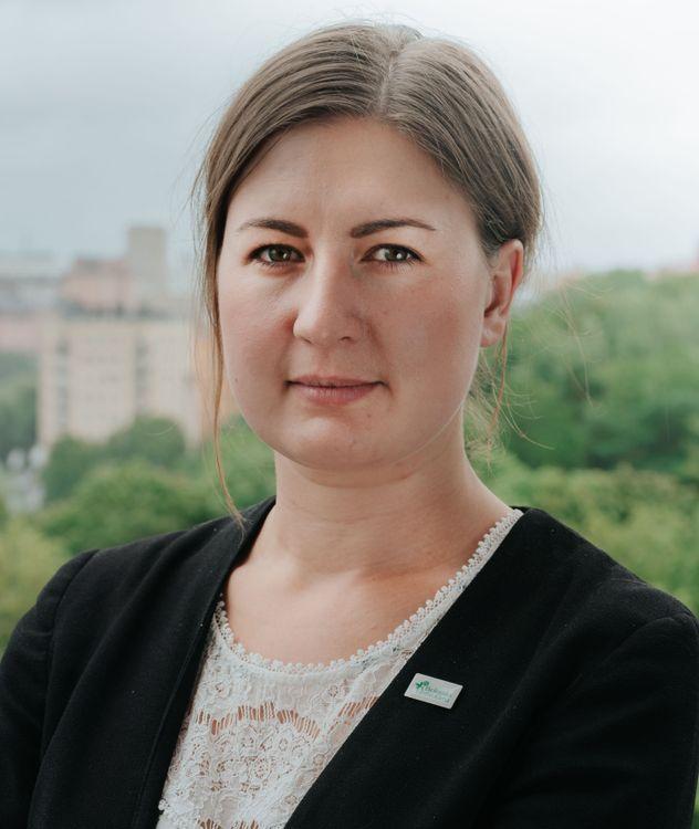 Sofia Emilson, verksamhetsledare på Ekologiska Lantbrukarna.