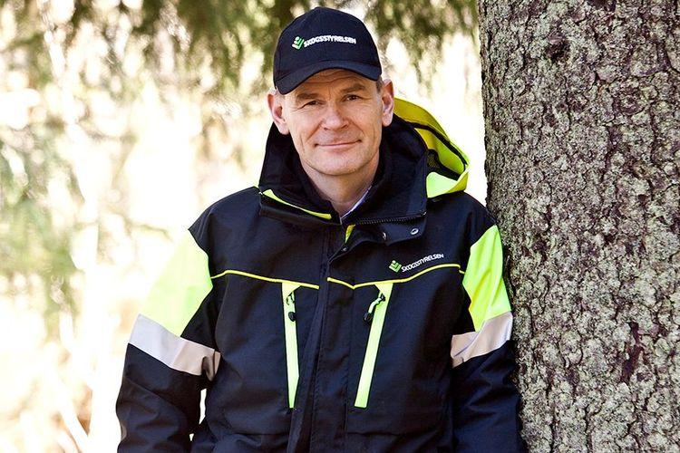 Skogsstyrelsens generaldirektör Herman Sundqvist.