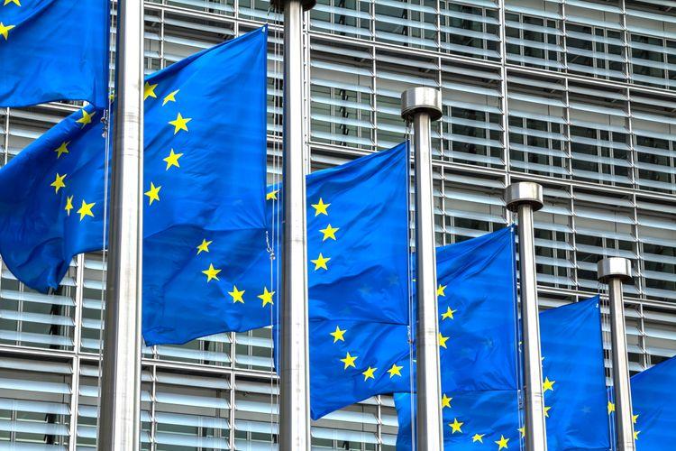 EU-flaggor.
