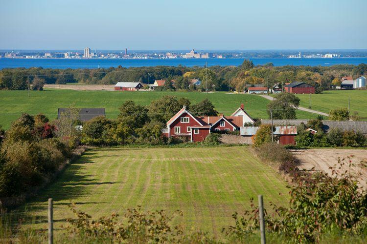 Bondgård på Öland.