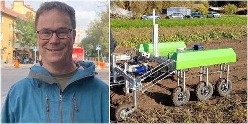 Unika ogräsroboten Ekobot släpps nästa år