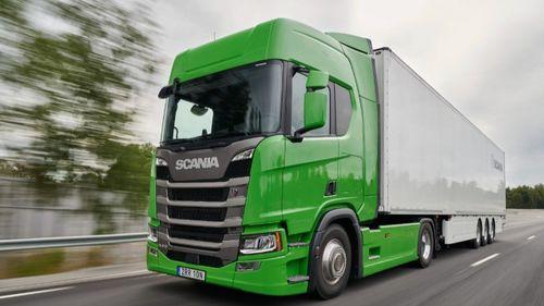 Femte raka för Scania