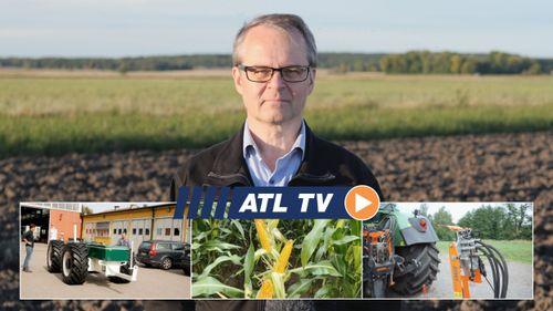 ATL TV: Premiär för självkörande traktor