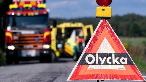 Man avliden efter traktorolycka