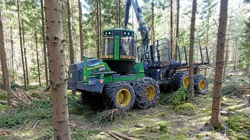 Gröna maskiner dominerar