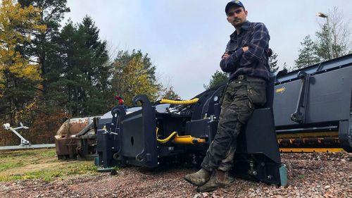Han leder bränsleupproret – planerar traktordemonstration