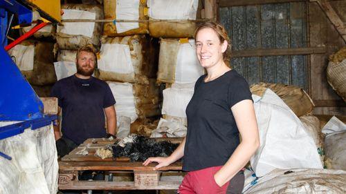 De ser till att svensk ull hittar köpare