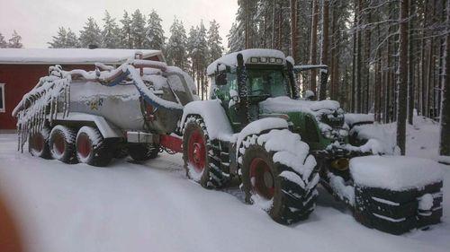 Köldknäpp sätter stopp för höstbruket i norr