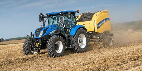 New Holland stiger bland traktorerna