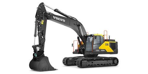 Två nya hybridgrävare från Volvo