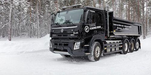 Volvo testar eldrift i arktisk kyla
