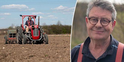 Vårbruk med gamla maskiner och udda grödor