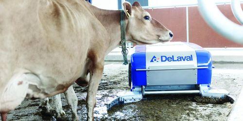 Ny gödselrobot från De Laval