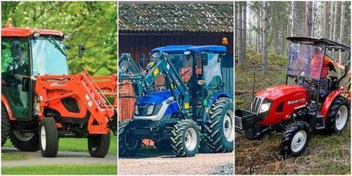 Tre minitraktorer som kan utmana din ATV
