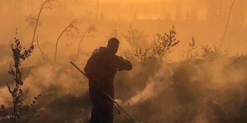 Så ska efterbevakning av skogsbränder underlättas